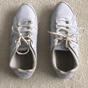 White cheer shoes